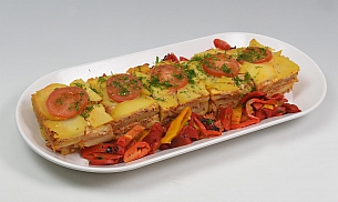 Musaca de cartofi cu carne tocata 6 portii