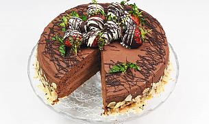 Tort de ciocolata 12 portii